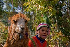 Gesichter Perus 9 und 10 und 11