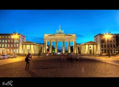 Gespenster am Brandenburger Tor