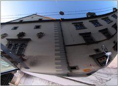 """Gespiegelte Bauwerke # 2 """"das Landhaus"""""""