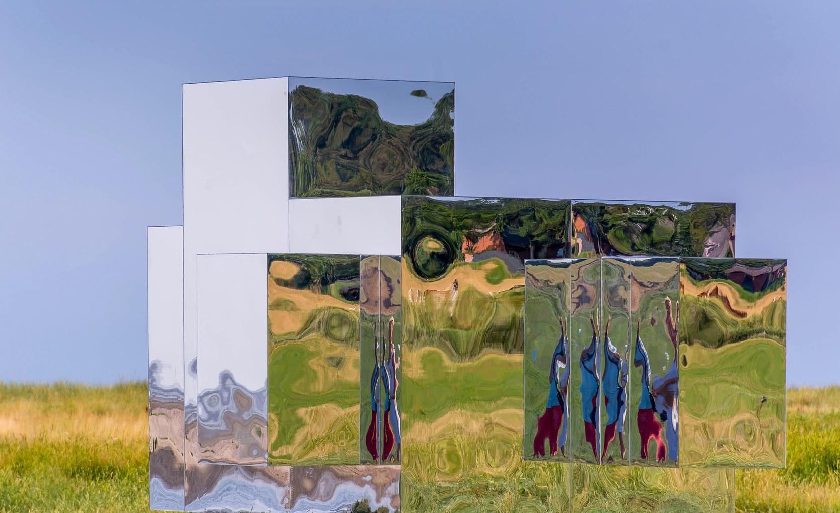 gespiegelte Landschaft