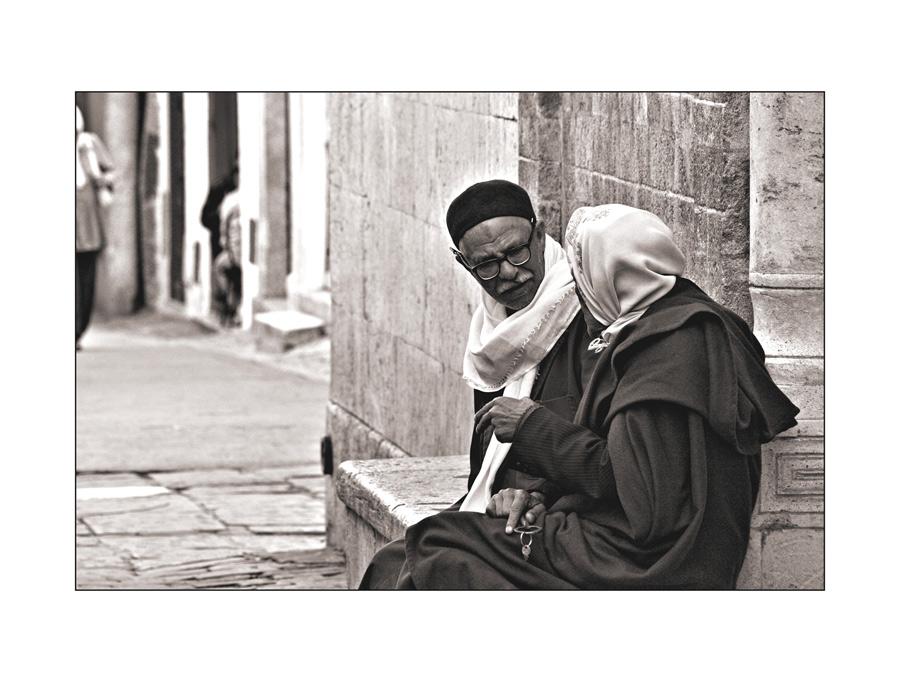 Gespräch in Tunis