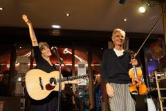 Gestern Abend in der Gomera Pioano Bar Thomas Kargermann und Deborra - f u n t a s t i s c h