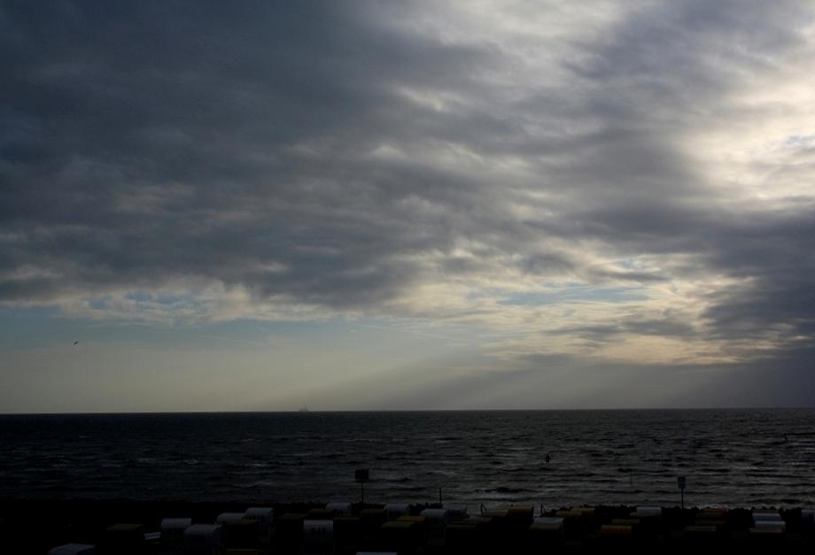 Gestern an der Nordsee