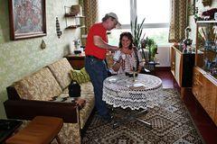 Gestern bei Petra  und Helmut Hillenbrand im Wohnzimmer