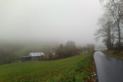 Gestern im Nebel