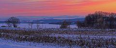 Gestern morgen ca 10 km nach Süden ins Osterzgebirge gefahren