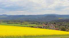 Gestern Nachmittag vom Hoburkersdorfer Rundblick gesehen...