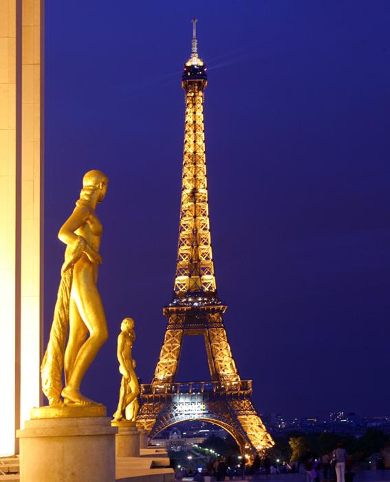 Gestern um 21.40 in Paris