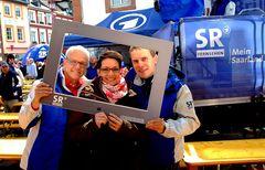 Gestern war der Saarländische Rundfunk zu Gast ...