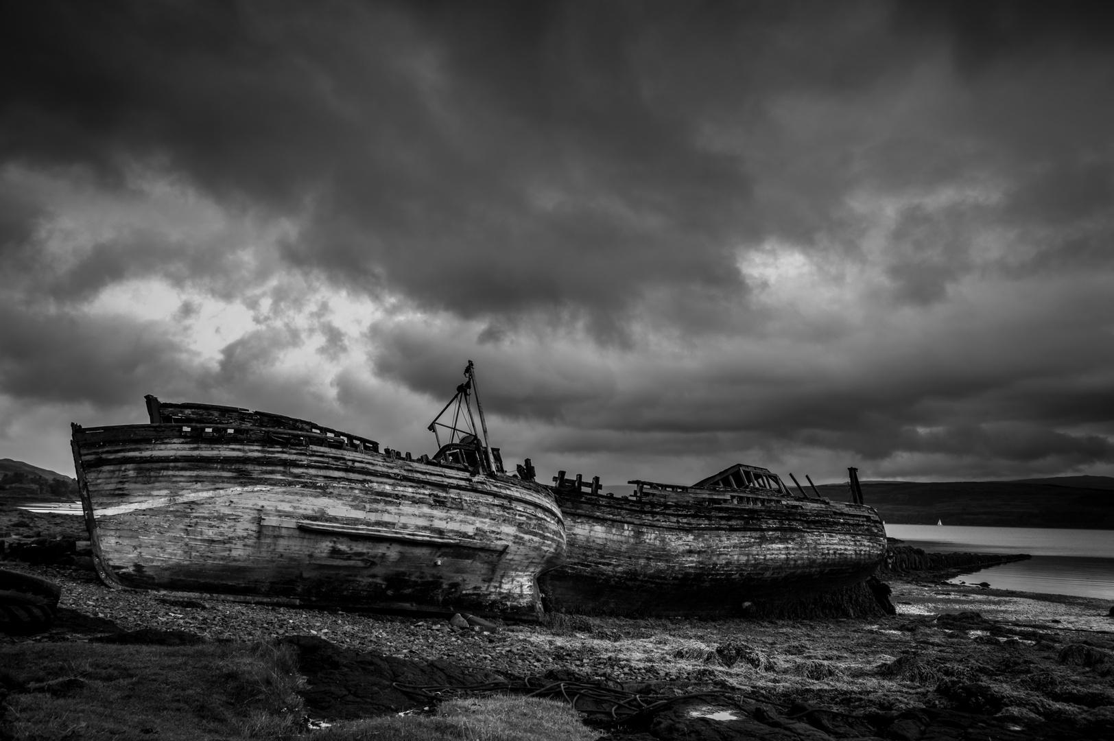 ...gestrandet auf der Isle of Mull