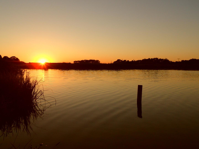 -Gestriger Sonnenuntergang-