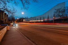 Gesundbrunnenstraße Autolichter