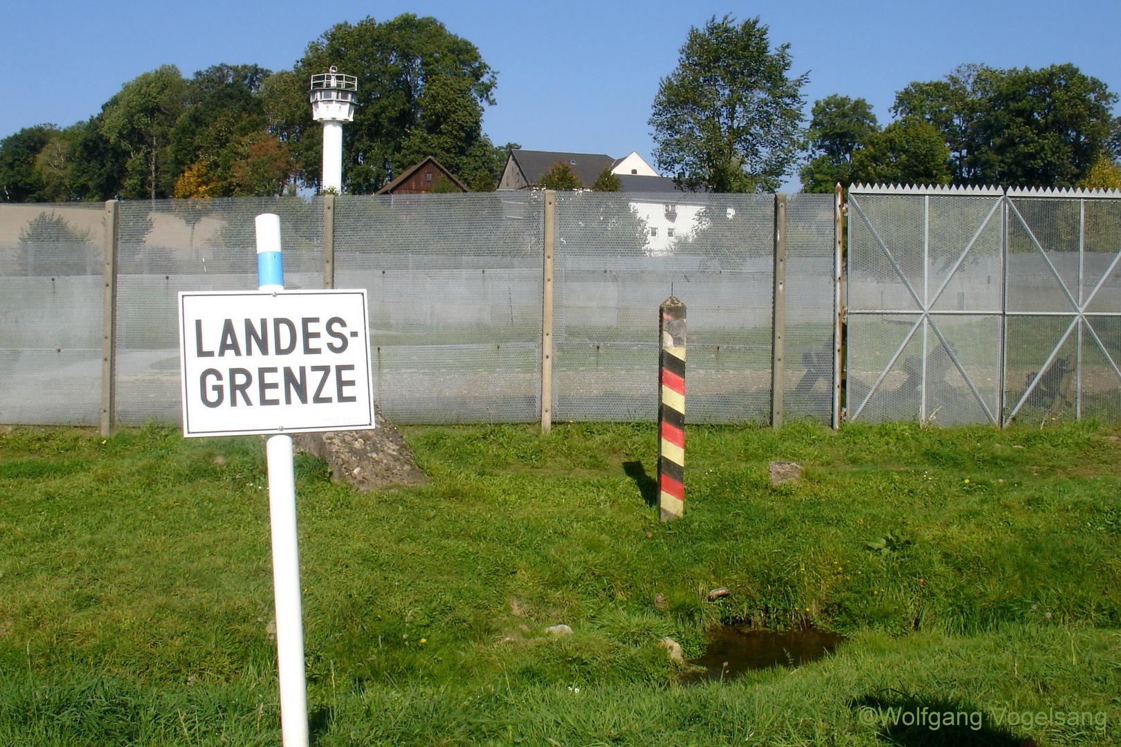 Geteiltes Dorf, auch Little-Berlin genannt