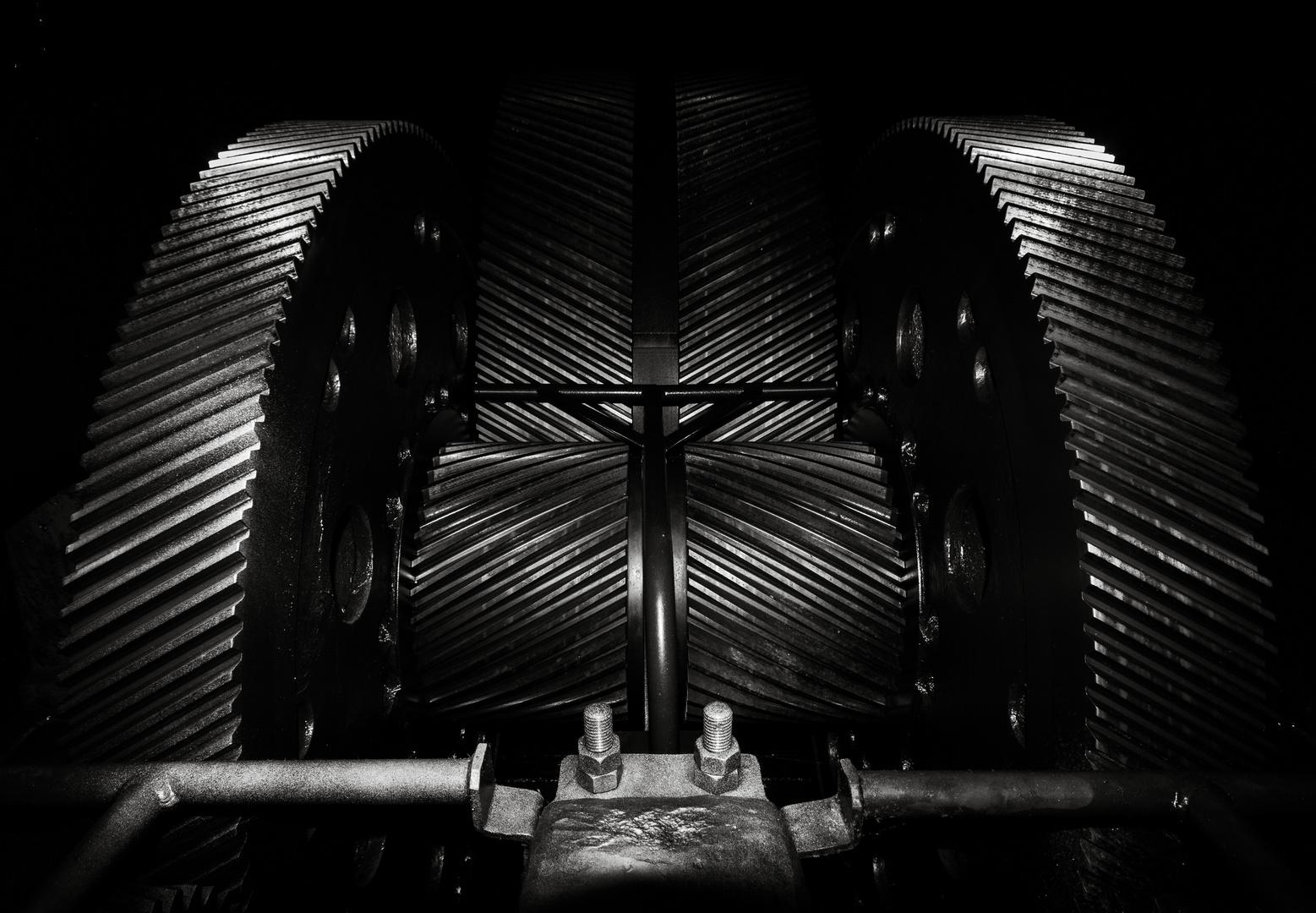 Getriebe einer Seilfahrt
