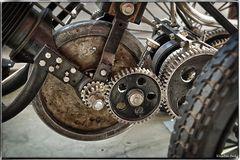 Getriebe eines Vorgängers des modernen Trike