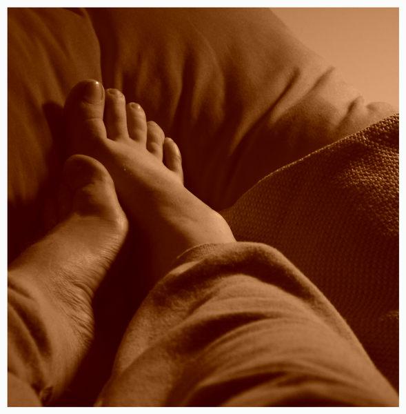 - getting comfortable -