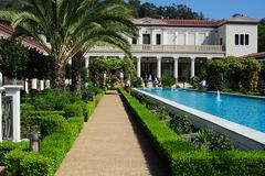 Getty Villa in Pacific Palisades bei L.A.
