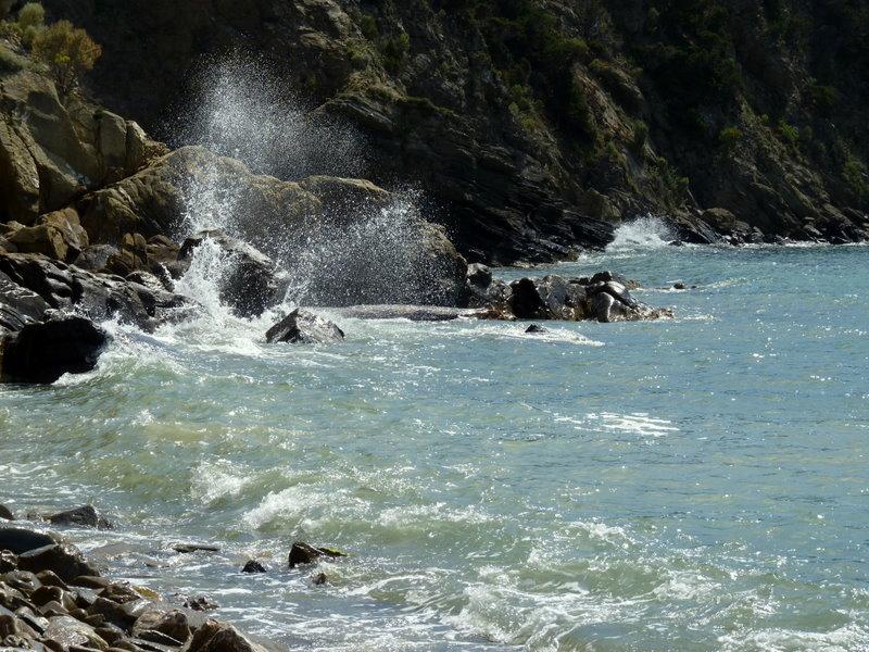 Gewalt des Wassers