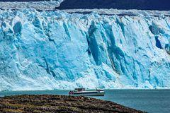 Gewaltige Gletscherzunge