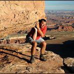 Gewichtestemmen im Canyonlands N.P. :-)