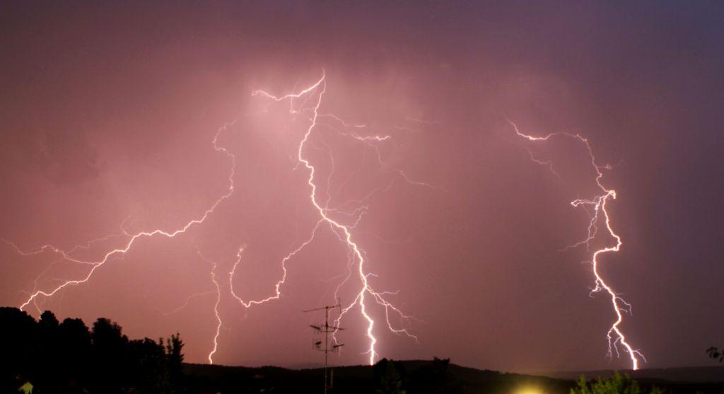 Gewitter 30.06.2012 Ebersdorf bei Coburg