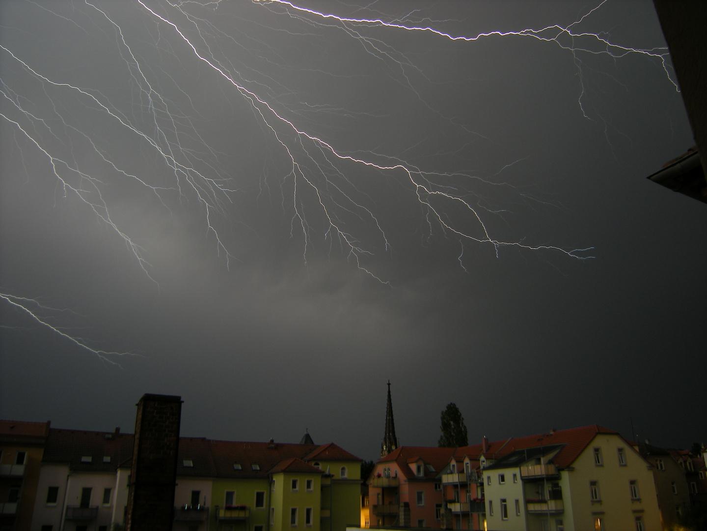 Gewitter am Abend 3