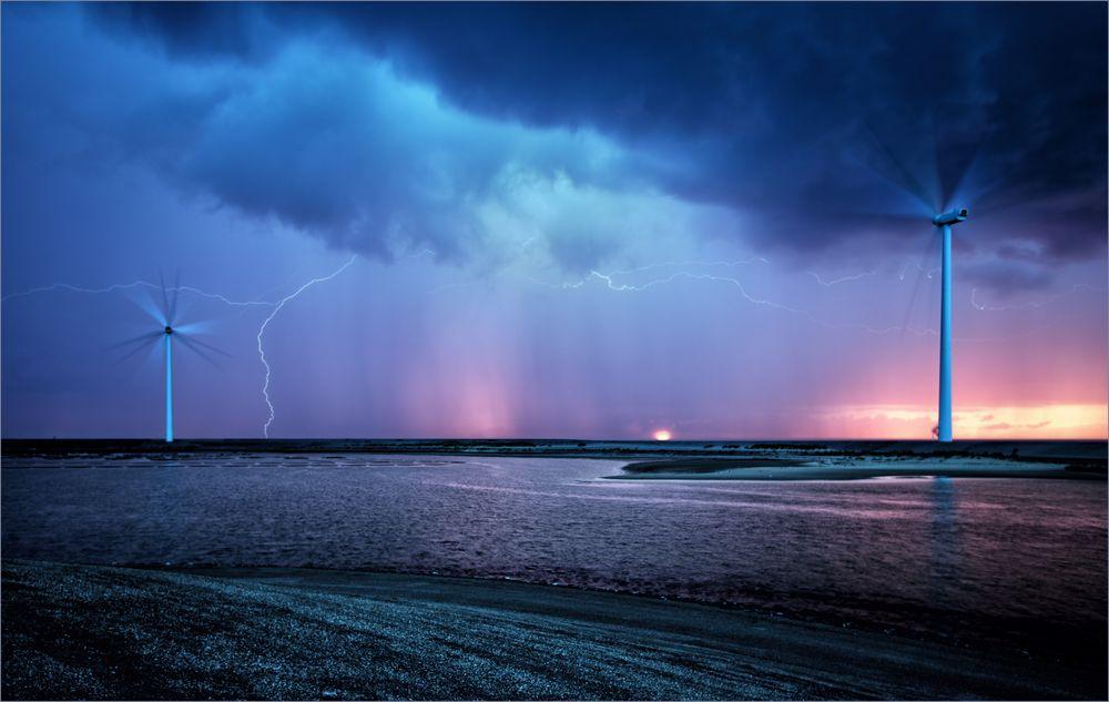 Gewitter am Abend