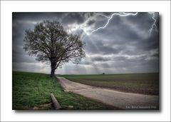 Gewitter ..... am linken Niederrhein ...