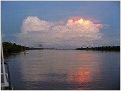 Gewitter auf dem Amazonas 2