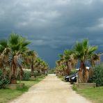 Gewitter auf dem Las Dunas