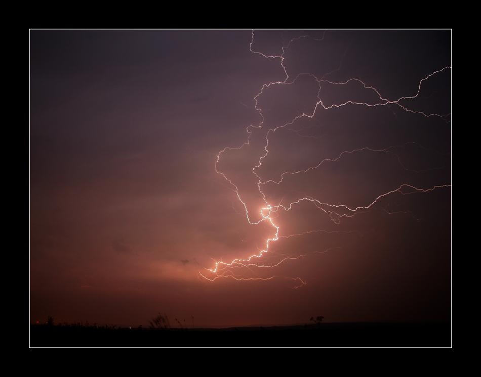Gewitter bei Schiedungen 25.05.2007