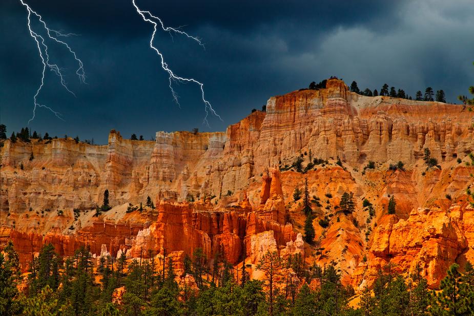 Gewitter im Bryce Canyon