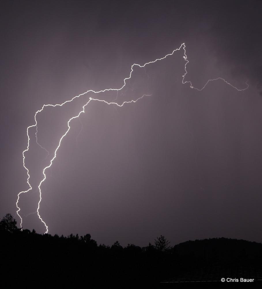 Gewitter im Nord-Osten von Graz
