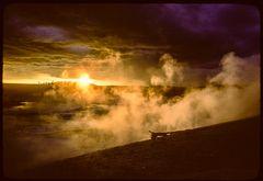 Gewitter im Norris Geysir Basin