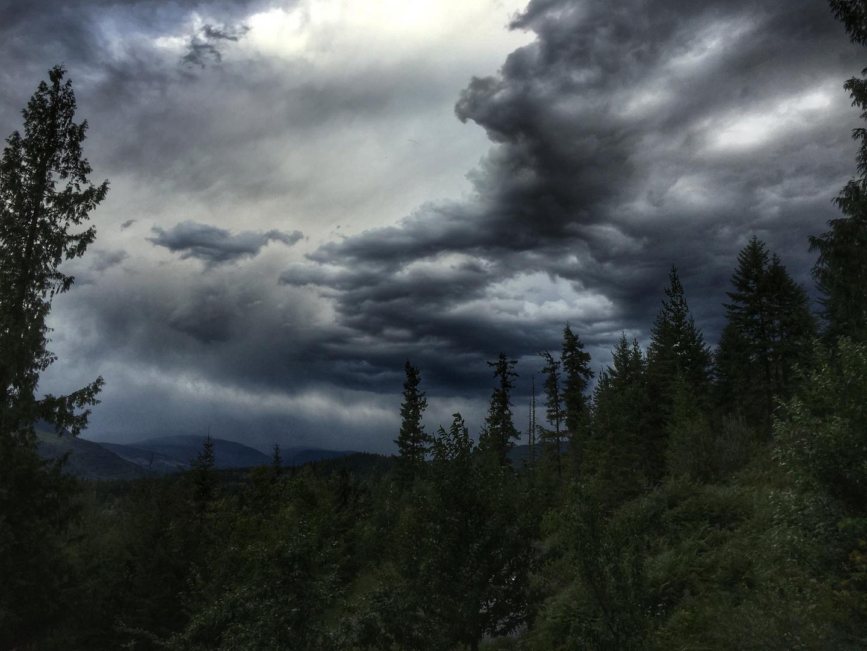 Gewitter im Okanagan Valley