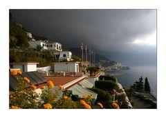 Gewitter in Amalfi