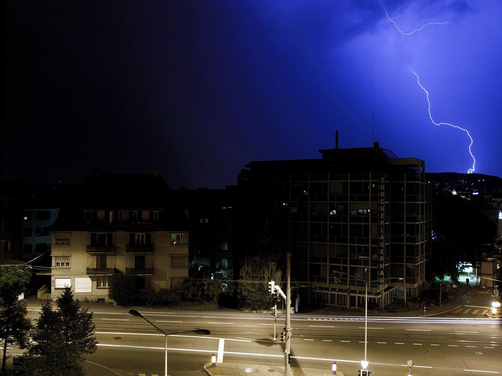 Gewitter in Zürich Teil 2