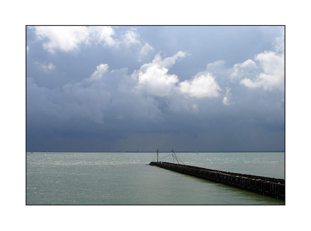 Gewitter über Belgien