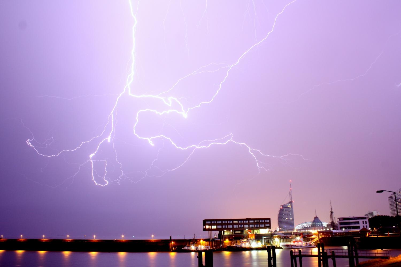 Gewitter über Bremerhaven #2
