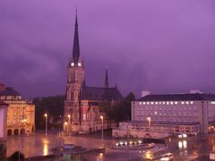 Gewitter über Chemnitz