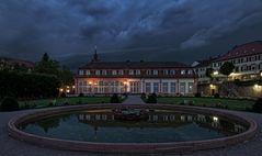 Gewitter über dem Schloß Erbach