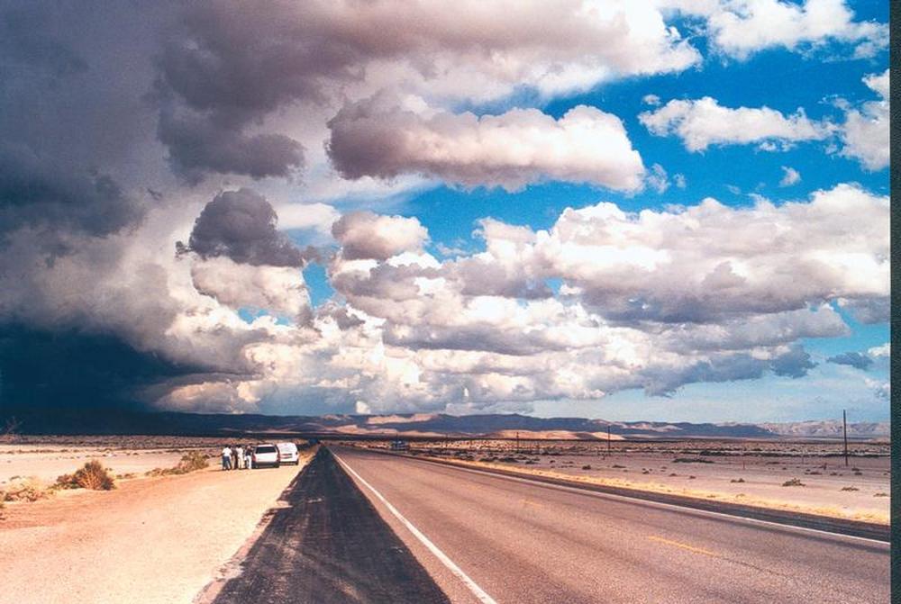 Gewitter über den Guadalupe Mountains