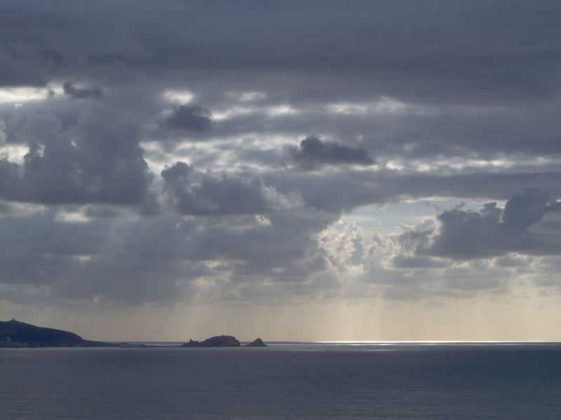 Gewitter über Ile Rousse