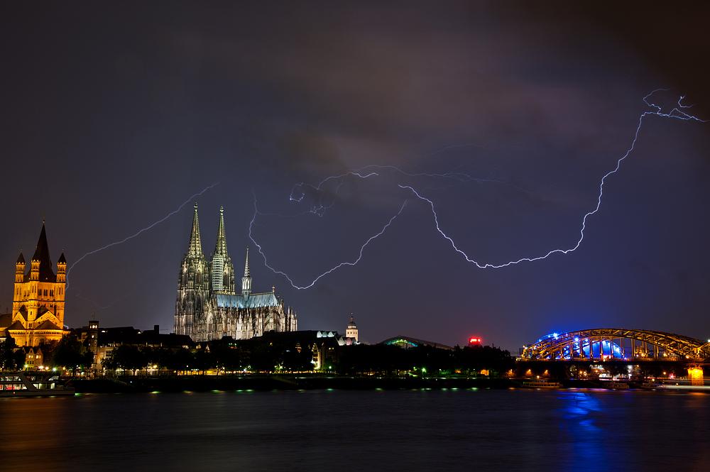 Gewitter In Köln