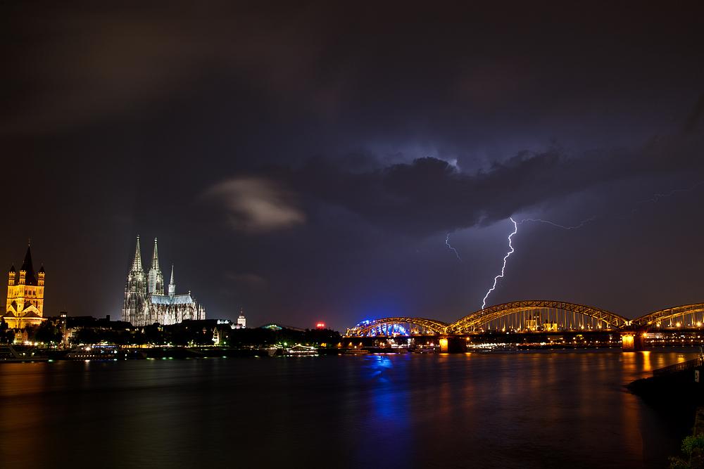 Gewitter über Köln II