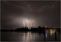 Gewitter über Konstanz 2