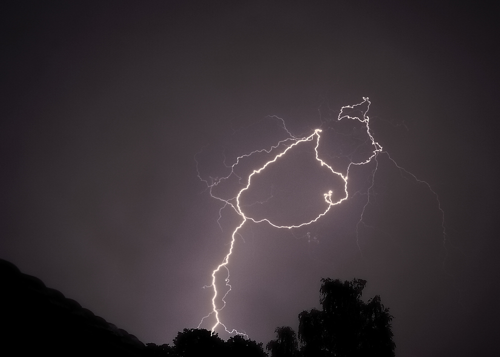 Gewitter über Lüneburg
