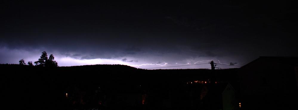 Gewitter über Meiningen