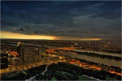 Gewitter über Wien
