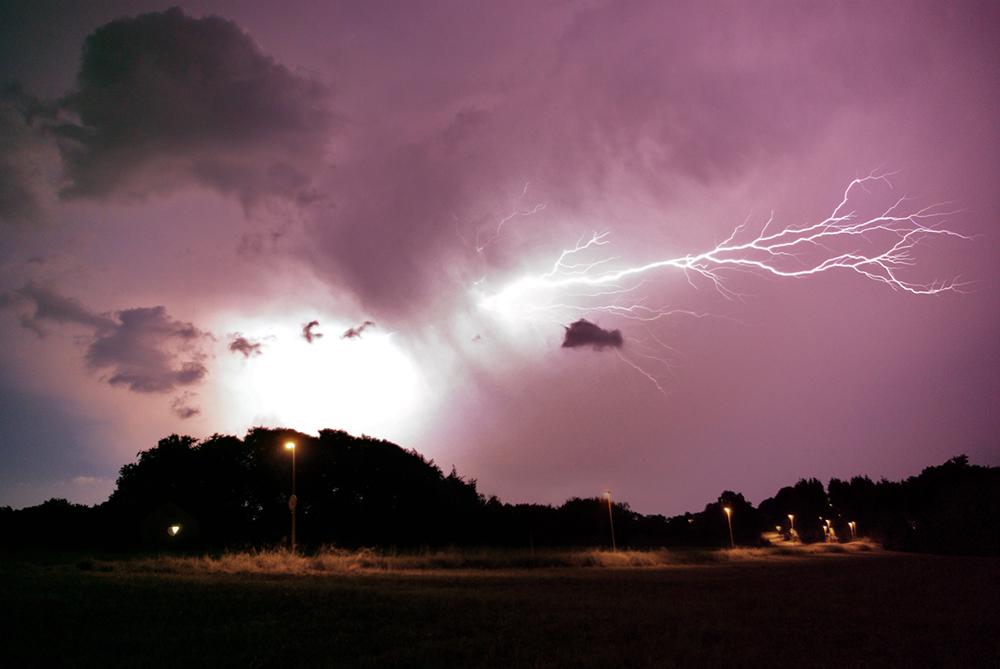 Gewitter über Wuppertal II